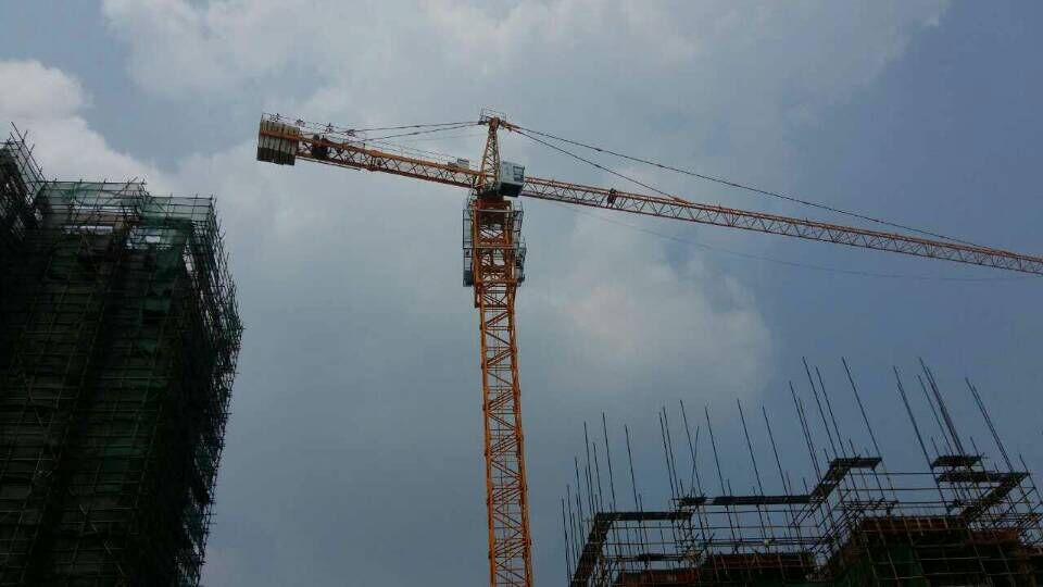 Dongyue tower crane in Hunan Province