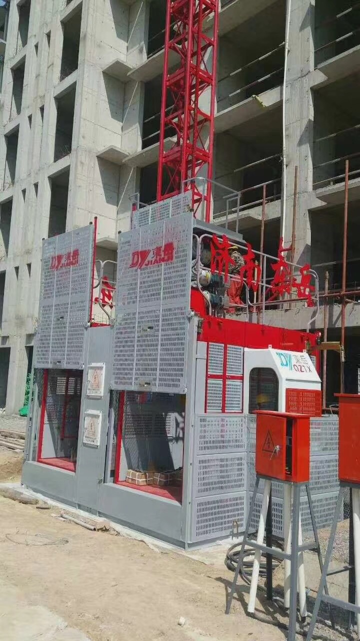 Dongyue construction hoist in Hubei Province